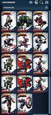 Topps Marvel Collect Maximum Venom Full Set + Award - Digital Card