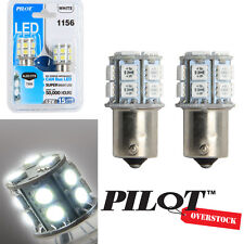 Pilot Automotive 1156 White LED Light Bulbs pack of 2 - US SELLER FAST SHIPPING