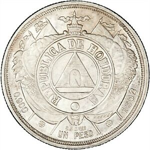 Honduras 1902 Peso LUSTROUS EF