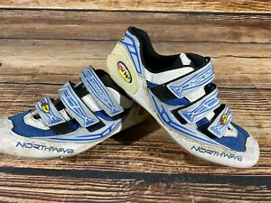 NORTHWAVE Road Cycling Shoes Clipless Biking Boots Size EU 42 with Cleats