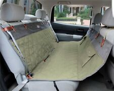 "Back Seat Cover Solvit Premium Hammock Cover Green 56"" x 57"" Quilted Cotton"