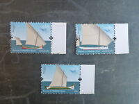 2015 PORTUGAL BOATS OF THE MEDITERRANEAN SET 3 MINT STAMPS MNH