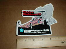 Shirley Muldowney Pioneer Top Fuel Dragster 1983 drag racing decal sticker Mopar