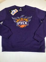 Phoenix Suns Sweatshirt Youth Medium 10/12 NBA Purple Crew Neck