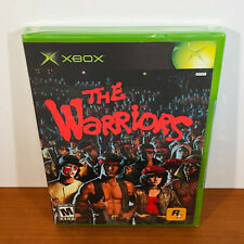The Warriors (Xbox) 1st Print! Black Label! Sealed. Near-Mint!