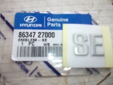 Genuine New HYUNDAI SE BOOT BADGE Emblem For Coupe Mk1 1996-2000 1.6 2.0