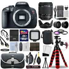 Canon EOS Rebel T5i SLR Camera with 18-55mm STM Lens+ 16GB Mega Accessory Bundle