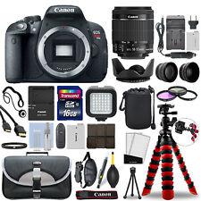 Canon EOS Rebel T5i SLR Camera with 18-55mm STM Lens+ 16GB Mega Accessory Bundle