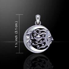 Sonne Mond & Sterne Anhänger Silber Symbol Schmuck - NEU