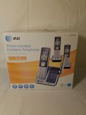 AT&T CL81301 3 HANDSET CORDLESS PHONE SYSTEM NEW OPEN BOX