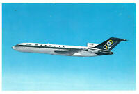 Olympic Airways Boeing 727-200 Aeroplane Rare Plane Greece Postcard