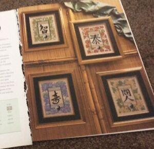 Joan Elliott's Four Elements Water Fire Earth cross stitch chart only / 2220