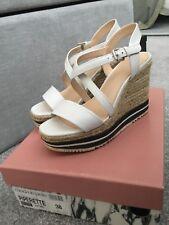 Moda In pelle Wedge Sandals size 38 (5)