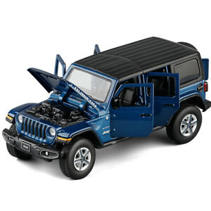 1:32 Jeep Wrangler Rubicon SUV Diecast Model Car Toy Collection Sound&Light New