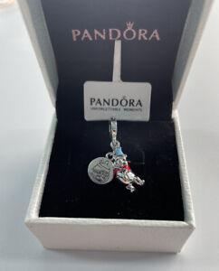 ALE S925 Pandora Genuine Disney Winnie the Pooh Birthday Dangle Charm & Gift Box