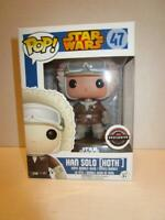 Funko Pop Vinyl Bobble-Head STAR WARS HAN SOLO (HOTH) #47 Gamestop Exclusive