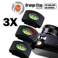Phot-R 2x Hot Shoe Camera Bubble Spirit Level Triple Three 3-Axis Digital DSLR