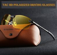 Polarized HD+ Night Vision Glasses Driving Aviator Sunglasses UV400 Protection