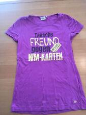 """T-Shirt TOM Tailor Größe XL """"Tausche Freund gegen WM Tickets"""" WM T-Shirt"""