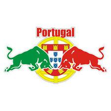 Sticker plastifié PORTUGAL TAUREAUX - 30cm x 16,5cm