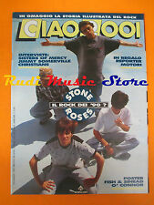 rivista CIAO 2001 11/1990  POSTER Fish Stone Roses Sisters Of Mercy * No cd