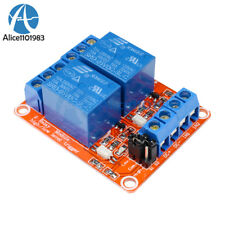 5V 2 Channel Relay Module With Optocoupler Support High and Low Level Trigger