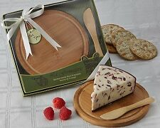 24 La Fromagerie Bamboo Cheese Board And Spreader Wedding Favors