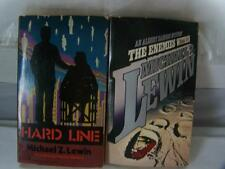2 Michael Lewin PB Books Hard Line The Enemies Within An Albert Samson Mystery