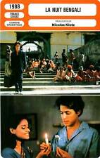 FICHE CINEMA : LA NUIT BENGALI - Grant,Azmi,Hurt,Brochet 1988 The Bengali Night