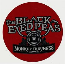 the Black Eyed Peas Monkey Business Rare promo sticker '05