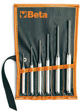 BETA TOOLS 31/B6 SET OF 6 PIN PUNCHES IN WALLET  2, 3, 4, 5, 6, 8 mm