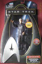 Star Trek Warp Collection Original Mr Spock with Black Action Figure Stand NEW