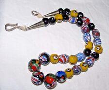 Antico Perline di vetro di Murano TRADE COLLANA VENEZIANA Chevron, Multi Colore