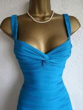Jane Norman blue bandage bodycon dress size 12 10