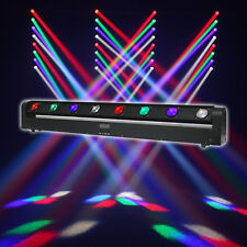Equinox Swing Batten 8 x 10W CREE LED RGBW Moving Bar Sweeper Beam Disco DJ