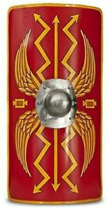 Medieval Warrior Functional Medieval Roman Armour Legion Scutum Shield 18G Steel