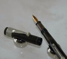 STYLO PLUME FOUNTAIN PEN A LEVIER GOLD STARRY N°90 fabrication française