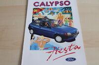 122780) Ford Fiesta - Calypso - Prospekt 04/1991