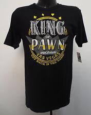KING OF PAWN MEDIUM SHIRT MENS PAWN STARS LAS VEGAS GET BACK IN THE GAME NEW