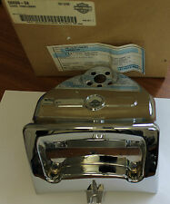 Harley FLHRS/I 04-07 Road King Handlebar Cover Chrome 56699-04 Genuine OEM - G14