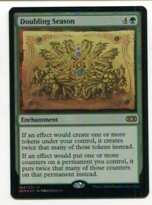 Magic The Gathering MTG Double Masters Foil Card #164 Doubling Season