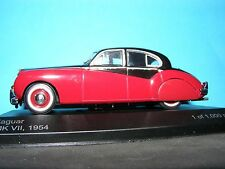 Jaguar Mk VII1954 in Black over Red  a 1:43RD Scale Whitebox Collectors Model