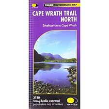 Cape Wrath Trail North XT40: Route Map by Harvey Map Services Ltd. (Sheet map, folded, 2014)