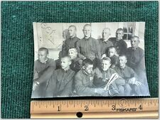 Photo Soviet Russian military ww2 army man USSR historical group Military speci