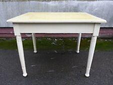 alter Tisch Esstisch Küchentisch unrestauriert Jugendstil weiß shabby chic