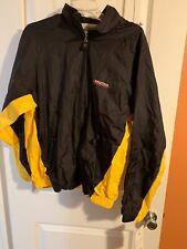 NEW Nautica Competition  Jacket Men's Sz M Color Black Yellow Vtg $145