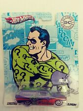 HOT WHEELS DC COMICS ORIGINALS - THE RIDDLER 8 CRATE DELIVERY -RARE- HTF