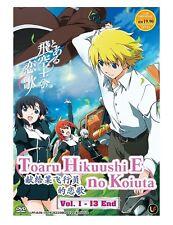 DVD Anime Toaru Hikuushi E no Koiuta Complete Series (1-13 End) English Subtitle