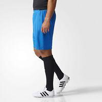 Adidas Mens Shorts Training Football Messi Climalite Running Gym Blue New AP1282