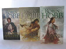 The Farseer #1-3: Book Series by Robin Hobb (Complete Trilogy) MM Paperback